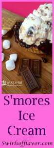 S'mores Ice Cream Pinterest