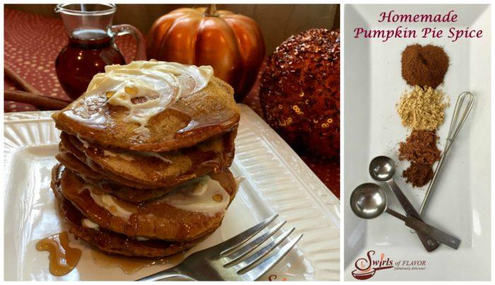 Pumpkin Pancakes and Pumpkin Pie Spice