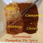 With just a few basic spices in the perfect proportions, you can make your own Homemade Pumpkin Pie Spice! An easy recipe combining cinnamon, ginger, nutmeg and cloves, pumpkin pie spice is a delicious and money saving way to enjoy pumpkin spice season! #pumpkinspice #pumpkinpiespice #homemade #pumpkinspicerecipe #easyrecipe #swirlsofflavor