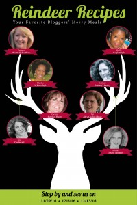 Kick off the holiday season and join myself and 7 of my blogger friends on ourReindeer Recipes blog tour for fabulous recipes and entertaining tips! #reindeerrecipes