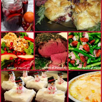 Wow your guests from start to finish with this holiday menu of show-stopping Christmas dinner recipes!