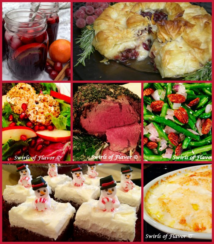 Christmas Dinner Menu.Best Ever Christmas Dinner Recipes Swirls Of Flavor