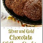 Chocolate Glitter Cookies