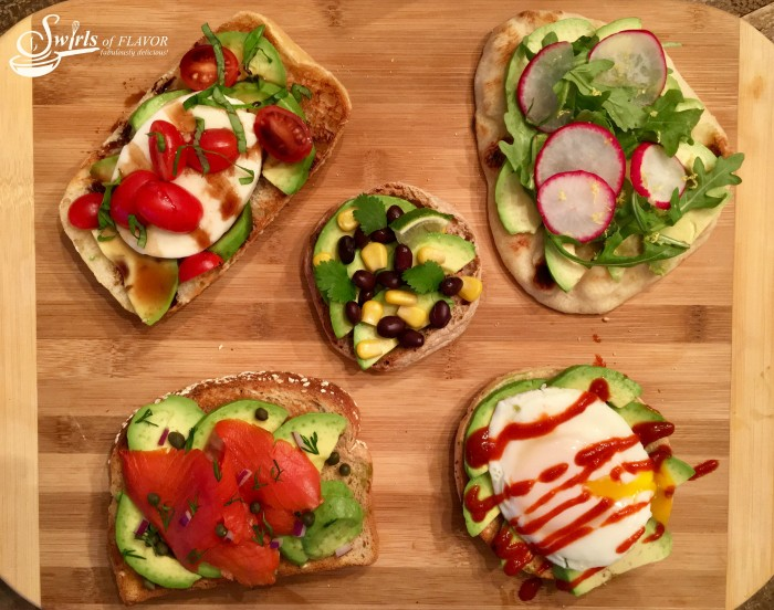 Avocado toasts are delicious and oh so nutritious! Make them for breakfast, lunch , dinner or even just a snack!
