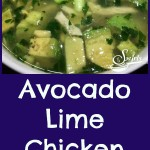 The fresh clean flavors of garlic, fresh ginger and lime and the buttery creaminess of chunks of avocados come together to create Avocado Lime Chicken Soup, a new comfort soup favorite!  Chicken Soup just got a facelift! #Soup |#Avocado #Chicken #ChickenSoup #Under 30Minutes |#homemade #homemadesoup #easyrecipe #swirlsofflavor