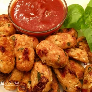 Cauliflower Tots With Balsamic Dipping Sauce