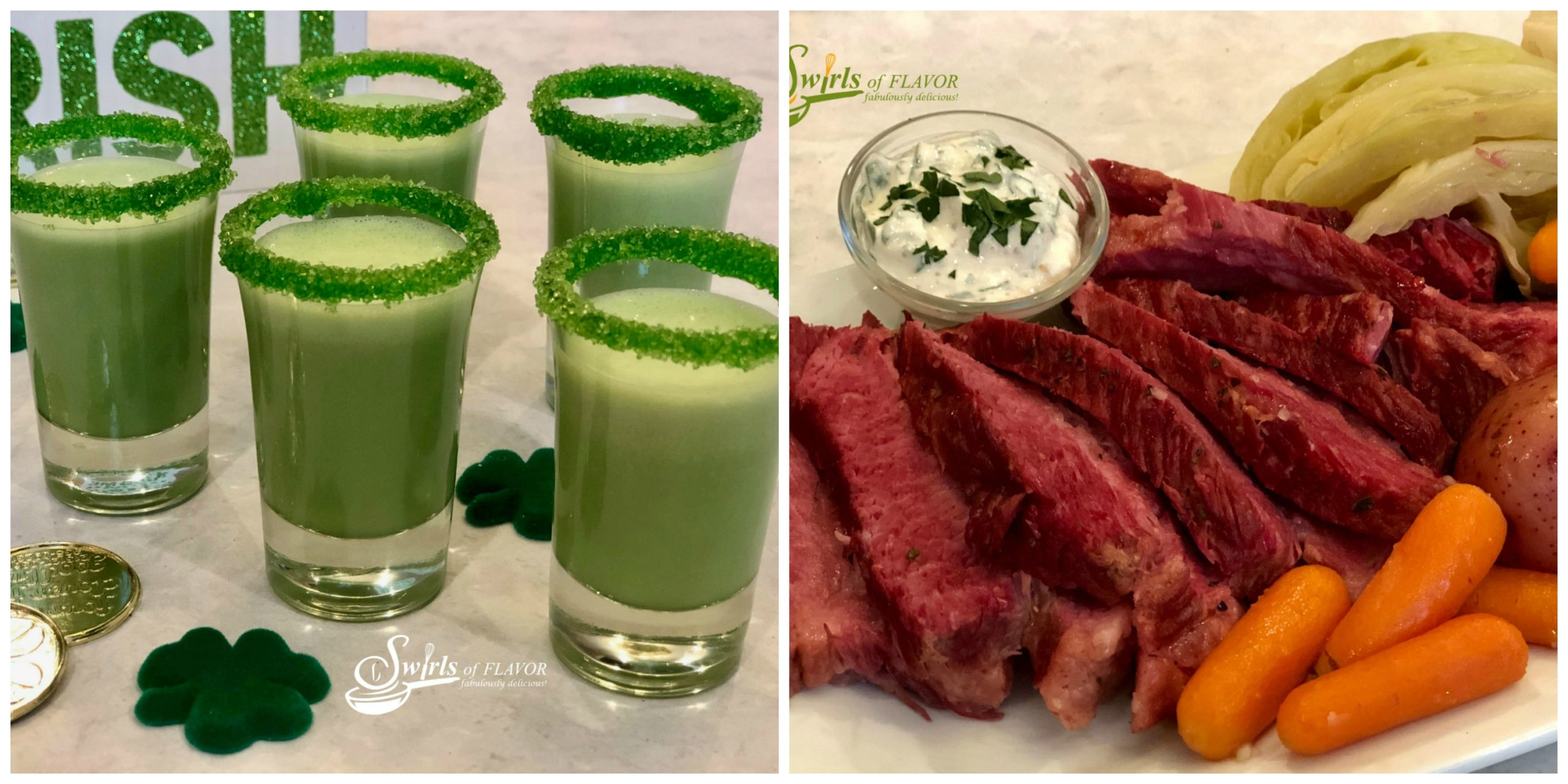 Shamrock Shooters and Corned Beef