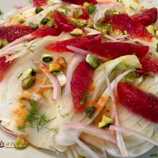 Pistachio Blood Orange & Fennel Salad
