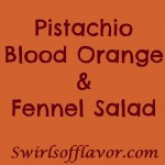 Crisp slices of fresh fennel with a hint of licorice flavor combine with theraspberry-citrus notes of blood oranges making Pistachio Blood Orange & Fennel Salad a refreshing addition to any meal. blood orange   orange   fennel   nuts   pistachios   salad   side dish
