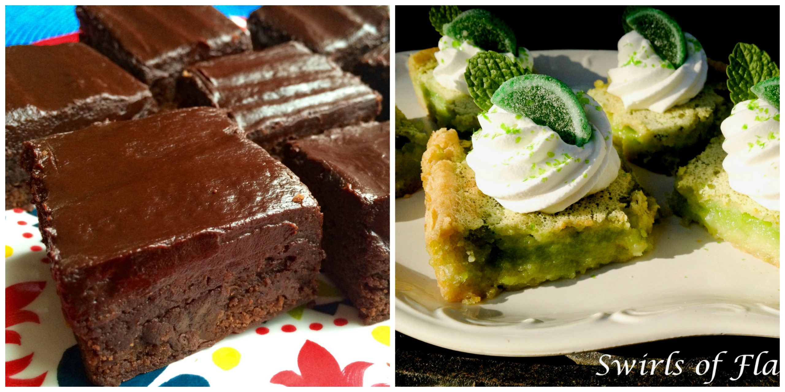 Chipotle Brownies and Mojito Bars