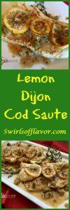 Lemon Dijon Cod
