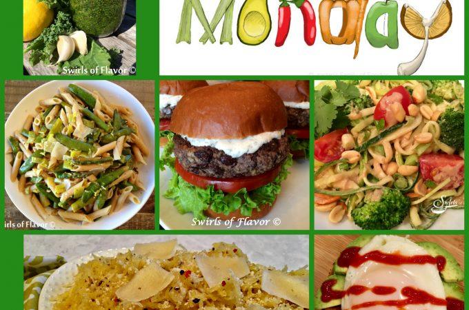 Meatless Monday Recipes! black bean burger   zucchini   zucchini noodles   zoodles   avocado toast   pesto   kale   kale pesto   spaghetti squash   meatless