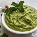 Fresh Mint Spring Pea Pesto
