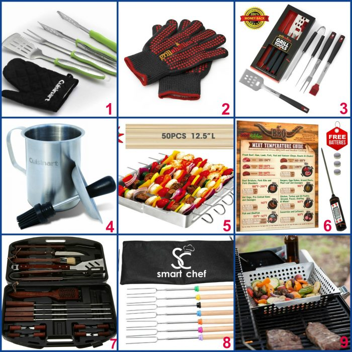 """When Dad is the """"Master of the Grill"""" he not only deserves but will absolutely love any one of these grilling gifts on Father's Day! Show Dad some love hot off the grill! The perfect grilling acfessory gifts for dad this year on Father's Day!"""
