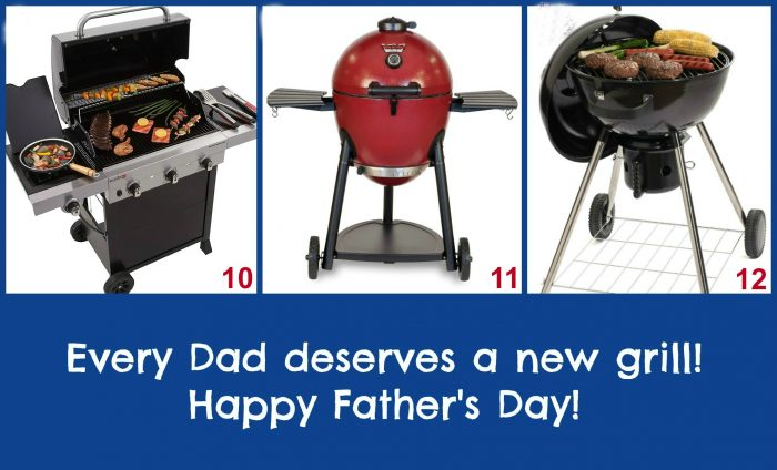 "Father's Day Grill Gift Ideas! When Dad is the ""Master of the Grill"" he not only deserves but will absolutely love any one of these grilling gifts on Father's Day! Show Dad some love hot off the grill!"