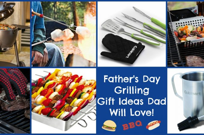 """When Dad is the """"Master of the Grill"""" he not only deserves but will absolutely love any one of these grilling gifts on Father's Day! Show Dad some love hot off the grill!"""