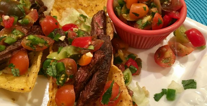 Spiced Skirt Steak Tacos