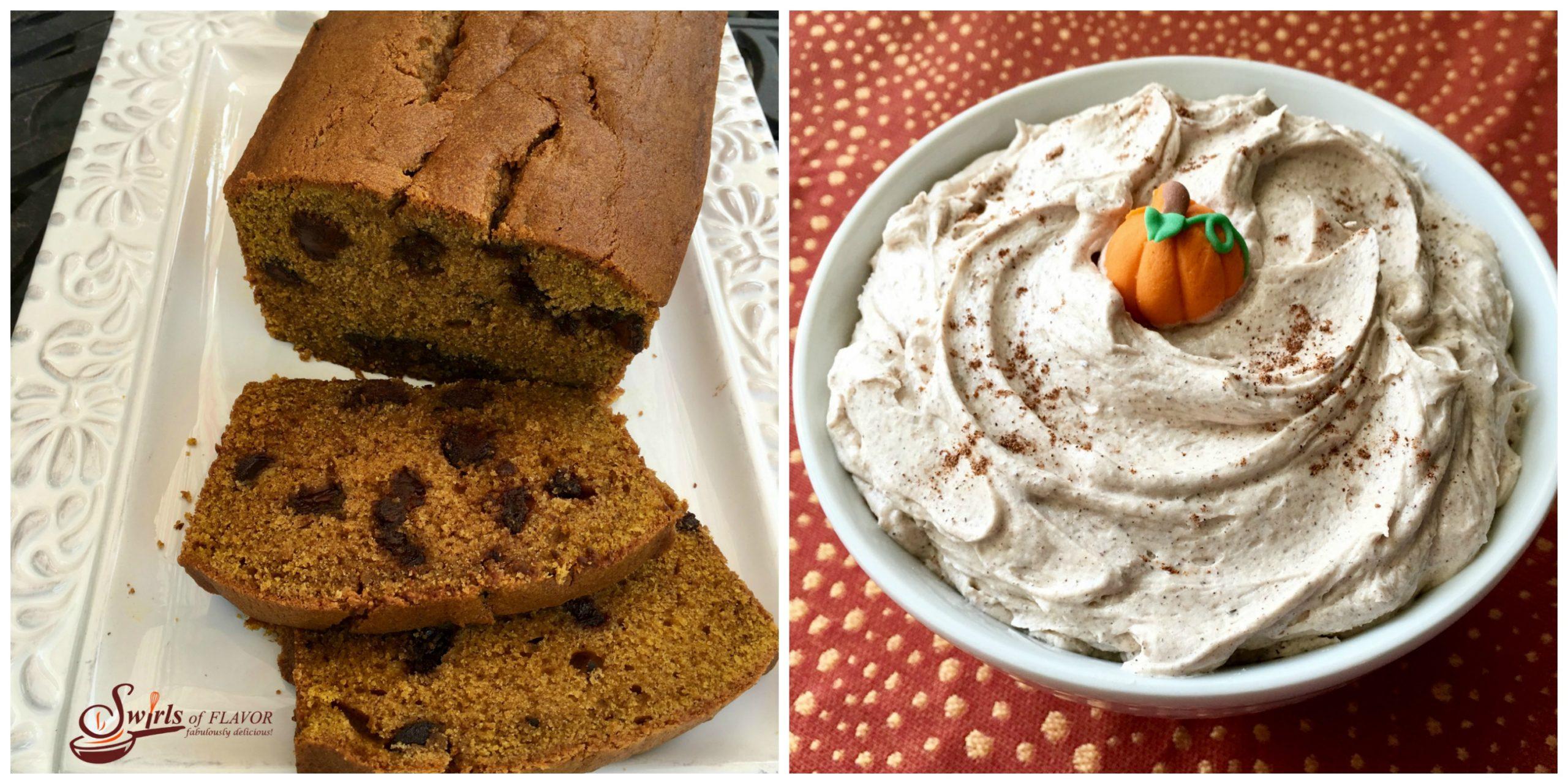 Pumpkin Bread ad Pumpkin Frosting