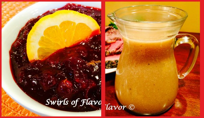 Homemade Cranberry Orange Cranberry Sauce and Easy Gluten Free Quinoa Gravy complete your holiday turkey dinner!