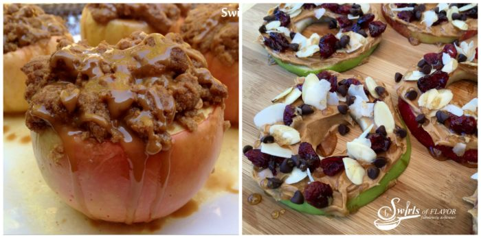 Baked Apples and Apple Slices