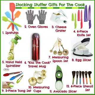Stocking Stuffer Gifts For The Cook