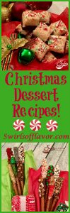 'Tis the season! The Christmas countdown has begun and holiday dessert season is in full swing beginning with Swirls' Christmas Dessert Recipes! no bake | Rudolph cupcakes | snowmen brownies | dipped pretzels | cheesecake | cannoli dip | fudge } cookies