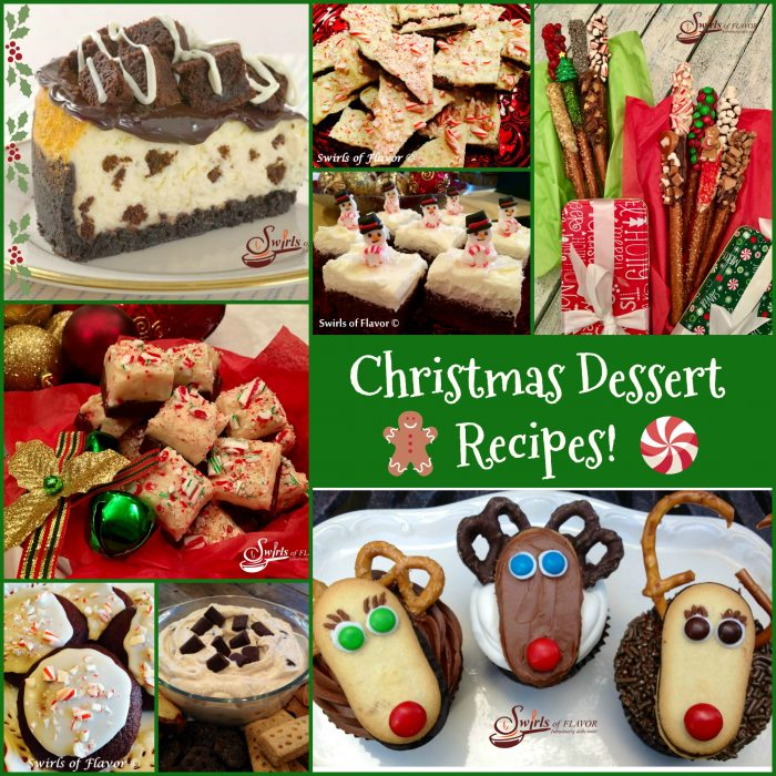 Christmas Dessert Recipes.Christmas Dessert Recipes Swirls Of Flavor