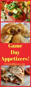 The playoffs are here and the Super Bowl is right around the corner. Time for some lip-smackin' game-watching snacks like Jalapeno Poppers, Pizza Bread, Nachos, Guacamole and Zucchini Fries! Super Bowl   pizza   pizza bread   guacamole   cheeseburger   empanadas   baked fries   zucchini fries   appetizers   snacks   recipe