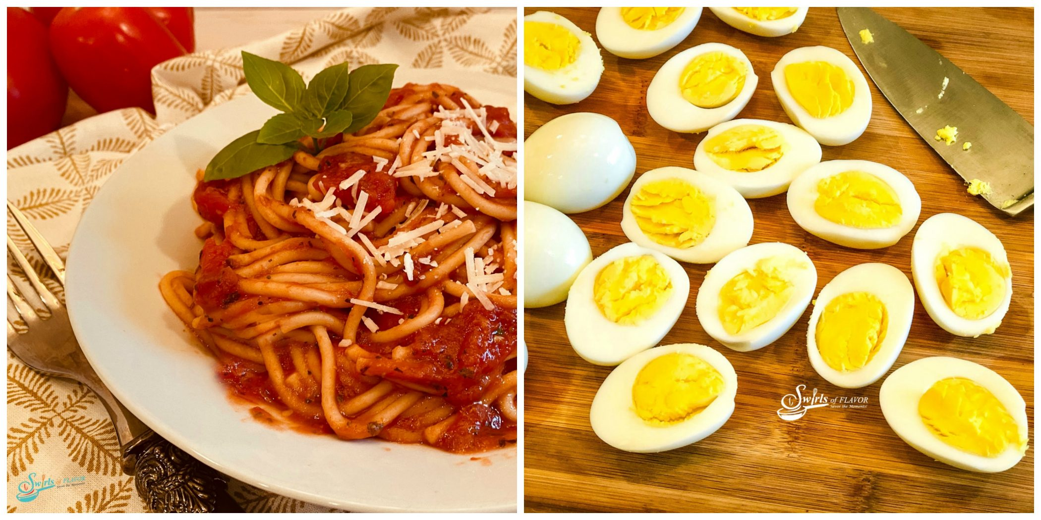 Instant Pot Spaghetti and Instant Pot Hard Boiled Eggs