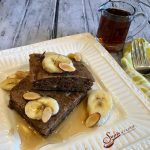 Sheet Pan Banana Bread Pancakes