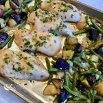 Sheet Pan Jalapeno Lime Chicken Dinner