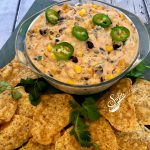 Creamy Corn and Black Bean Dip