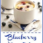 """You can have a piece of Blueberry Mug Cake With Lemon Glaze in just minutes with our easy recipe that """"cooks"""" in your microwave in just minutes!"""