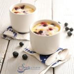 Blueberry Mug Cake With Lemon Glaze