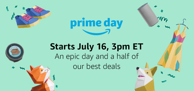 Amazon Prime Day Deals banner