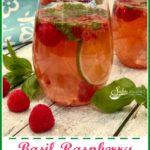 Basil Raspberry Rose Sangria