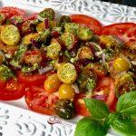 Pesto Tomato Salad