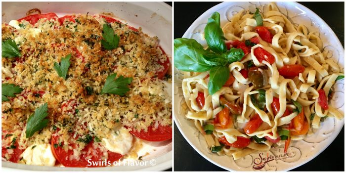 tomatoes Pro with Basil tomato Saucevencale and Fettuccine