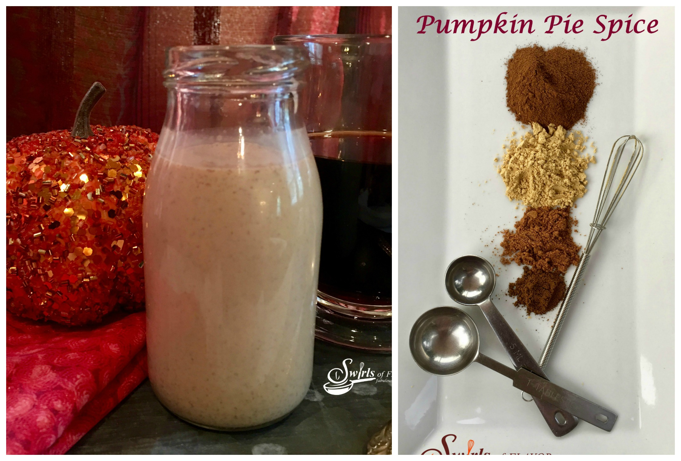 Pumpkin Spice Creamer and Homemade Pumpkin Pie Spice