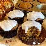 Glazed Pumpkin Spice Muffins