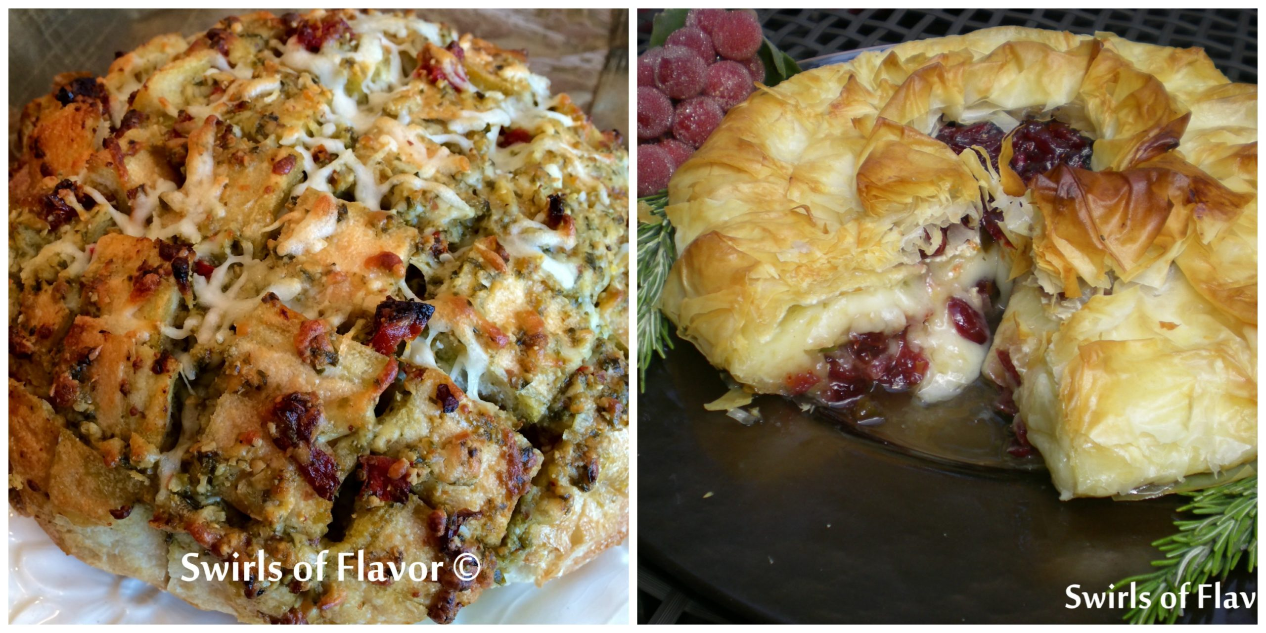 Pull Apart Bread and Baked Brie