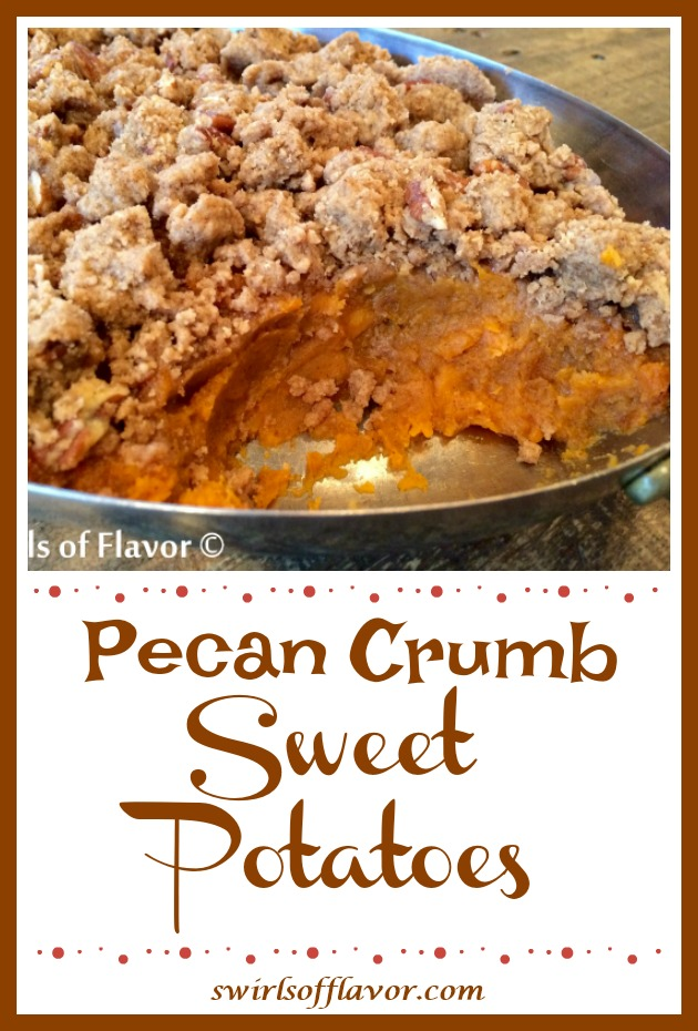 Pecan Crumb Sweeet Potatoes