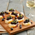 Balsamic Blueberry Mascarpone Crostini Recipe