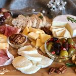 Holiday Cheese Charcuterie Board