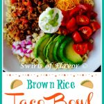 Brown Rice Taco Bowl