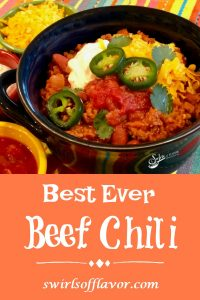There's nothing quite so comforting as having the Best Ever Chili Recipe simmering on the stove top when there's a chill in the air. With just a few basic ingredients and ready in about 30 minutes, your family, and you, will love when it's beef chili night!