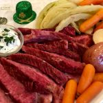 Cook your corned beef and cabbage dinner in the instant pot and you will have the most tender and delicious corned beef dinner ever! Instant Pot Corned Beef and Cabbage with a Dijon Horseradish Cream will make this year's Saint Patrick's Day dinner superb and memorable. You'll wish you were Irish every day!