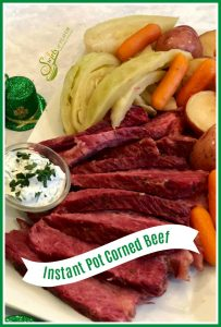 Instant Pot Corned Beef and Cabbage recipe
