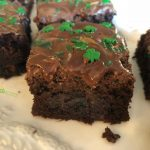 Chocolate Chip Mint Brownies