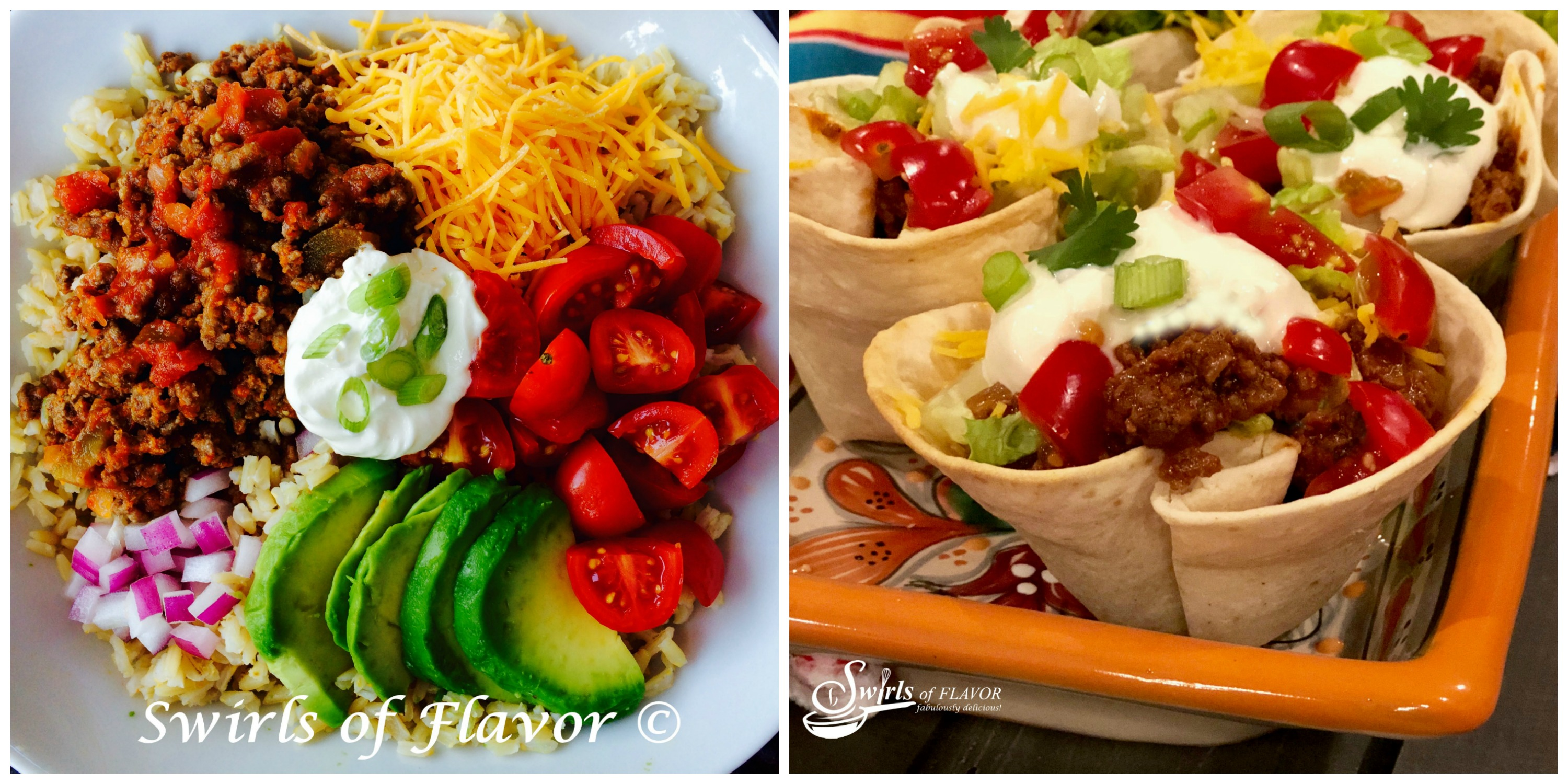 Taco Bowl and Taco Cups